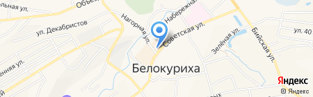 Хороший на карте Белокурихи