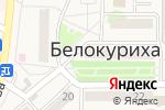 Схема проезда до компании Шанс в Белокурихе