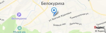 Энергоцентр на карте Белокурихи