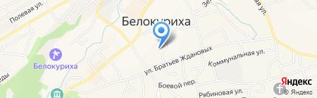 Управление социальной защиты населения по г. Белокурихе на карте Белокурихи