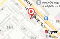 Схема проезда до компании Агентство Примирительных Процедур в Томске