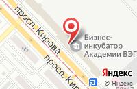 Схема проезда до компании Академия Дистанционного Менеджмента в Томске