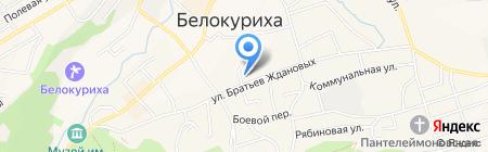 Сибсоцбанк на карте Белокурихи