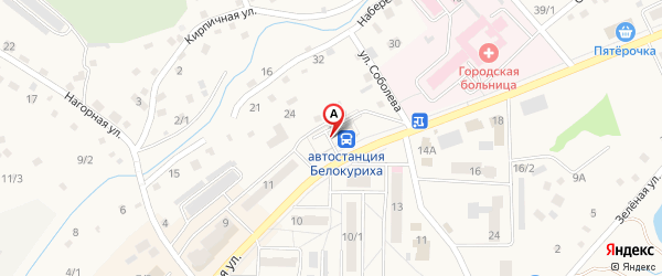 Автостанция города Белокуриха на Яндекс.Картах