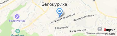 Маяк на карте Белокурихи