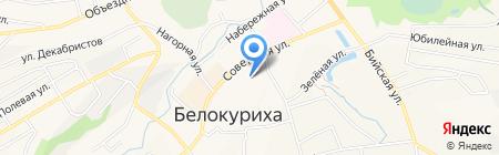 Славянка+ на карте Белокурихи