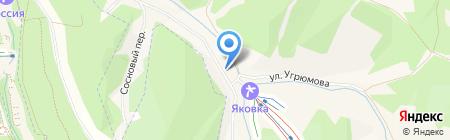 Каравай на карте Белокурихи