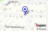 Схема проезда до компании СТРОИТЕЛЬНАЯ ФИРМА ДОРСТРОЙ в Мельниково