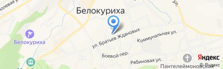 Электронно-кассовый сервис на карте Белокурихи