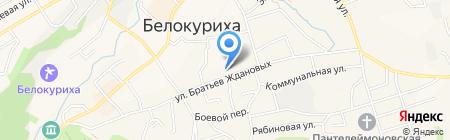 Центр занятости населения г. Белокурихи на карте Белокурихи