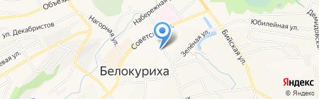 Юридический кабинет Прокофьева С.В. на карте Белокурихи
