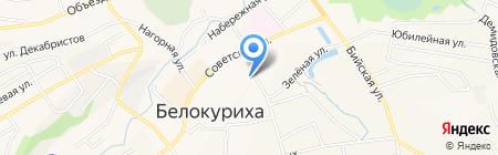 Бюро оценки и консалтинга на карте Белокурихи