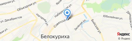 Торгово-монтажная компания на карте Белокурихи