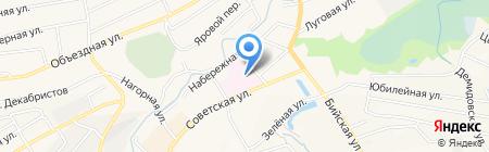 Детская поликлиника на карте Белокурихи