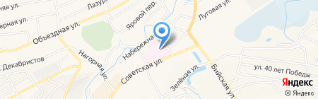 Поликлиника на карте Белокурихи