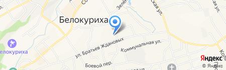 Судебный участок г. Белокурихи на карте Белокурихи