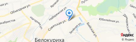 НОВЭКС на карте Белокурихи