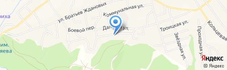 Сибирский металл проект на карте Белокурихи