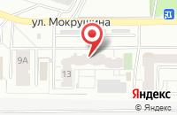 Схема проезда до компании Галс в Томске