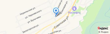 Мини-маркет на карте Белокурихи