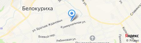 Автосервис на карте Белокурихи