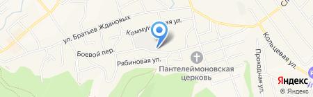 Дилайт на карте Белокурихи