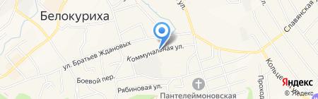 Я Сам на карте Белокурихи