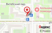 Схема проезда до компании СибТехноСтрой в Томске