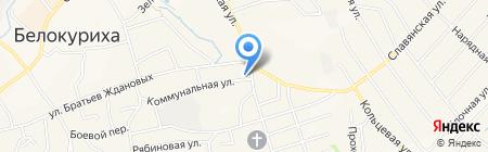 Автоградъ на карте Белокурихи