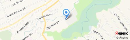 Водоканал на карте Белокурихи