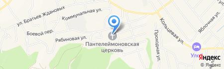 Пантелеимоновская церковь на карте Белокурихи