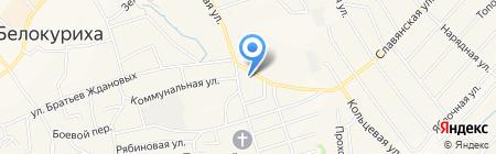 Межмуниципальный отдел полиции Белокурихинский на карте Белокурихи