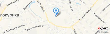 Полимер-Профиль на карте Белокурихи