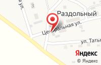 Схема проезда до компании Раздолье в Александровке