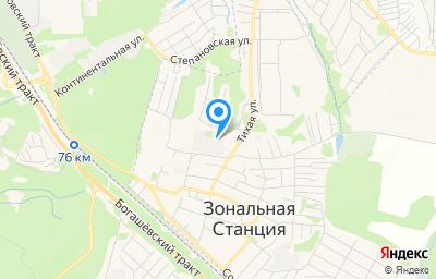Местоположение на карте пункта техосмотра по адресу Томская обл, Томский р-н, п Зональная Станция, ул Светлая, д 19 стр 3