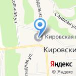 Участковый пункт полиции №3 на карте Бийска