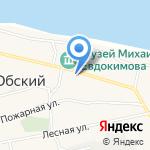 Алексеевский на карте Бийска