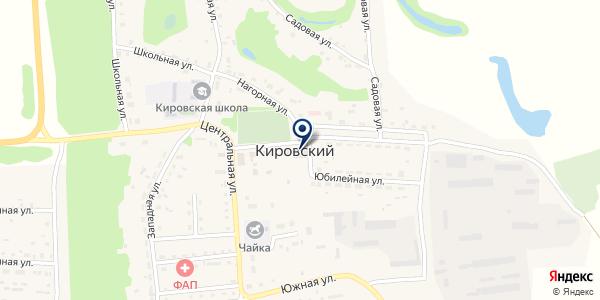 Кировский дом культуры на карте Кировском