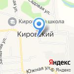 Администрация Кировского сельсовета Смоленского района на карте Бийска