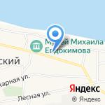 Участковый пункт полиции №4 на карте Бийска