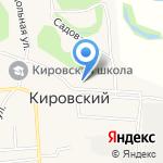 Кировская врачебная амбулатория на карте Бийска