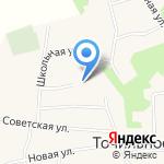 Точилинская средняя общеобразовательная школа на карте Бийска