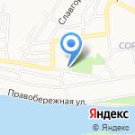 Гаражно-строительный кооператив №23 на карте Бийска
