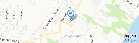 Городская больница №5 на карте Бийска