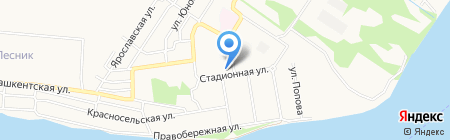 Почтовое отделение №13 на карте Бийска
