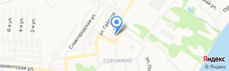 Аптека №133 на карте Бийска