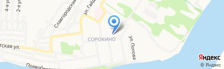 Детский сад №64 на карте Бийска