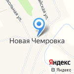 Корзинка Подольницких на карте Бийска