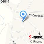 Новочемровский культурно-досуговый центр на карте Бийска