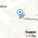 Новочемровский на карте Бийска